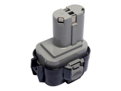 192596-6 193977-7 9000 Batterie pour Makita 9120 9122 NiMH//9.6v//3000mah