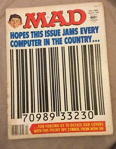 MAD-Magazine-Issue-198-April-1978-Barcode