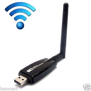 USB-WiFi-Wireless-N-300M-Adapter-Wi-Fi-Dongle-5dBi-High-Gain-Power-Antenna