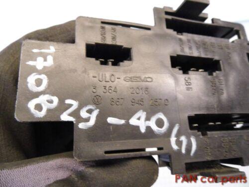 33642016 VW POLO 86c Lampade Supporto Luce Posteriore 867945257d
