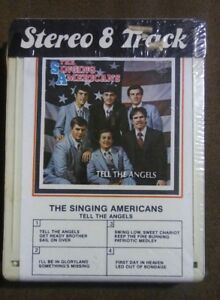 HTF-The-Singing-Americans-Tell-the-Angels-Stereo-8-Track-Southern-Gospel-NC