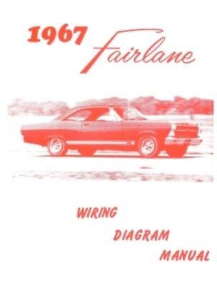FORD 1967 Fairlane Wiring Diagram Manual 67 | eBay