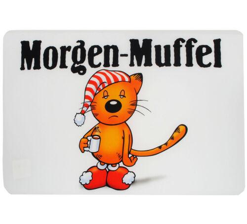 """Tischunterlage // Platzset /& Tisc Unterlage /"""" Morgen-Muffel /"""" 44 cm * 29 cm"""
