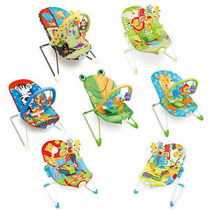 Baby-Rocker-Toddler-Comfortable-Bouncer-Safe-Chair-Soothing-Music-Vibration-NEW