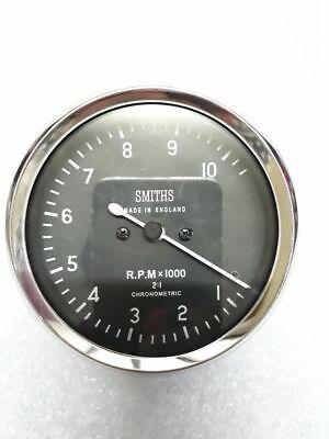 Smiths Tachometer 10,000 rpm 80 mm fitment M12x1 thread Replica 4 1