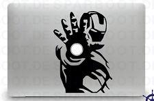 Apple MacBook Air Pro + IRON MAN + Aufkleber Sticker Skin Decal + Ironman