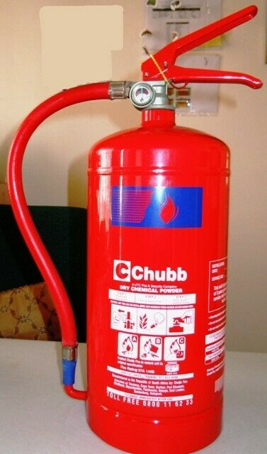 CHUBB FIRE EXTINGUISHER