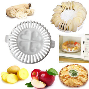 Chipsmaker-Mikrowelle-DIY-Kartoffel-Apple-knackig-Chips-Kartoffelchip-Pommes