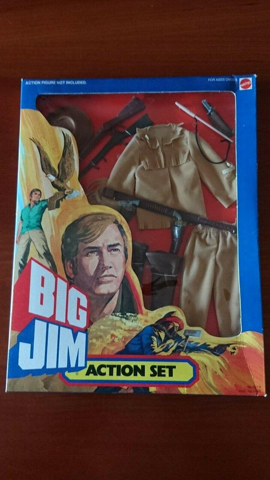 BIG JIM MATTEL ACTION SET OUTFIT   9914    PISTOLERO   CON SCATOLA ORIGINALE  réductions incroyables