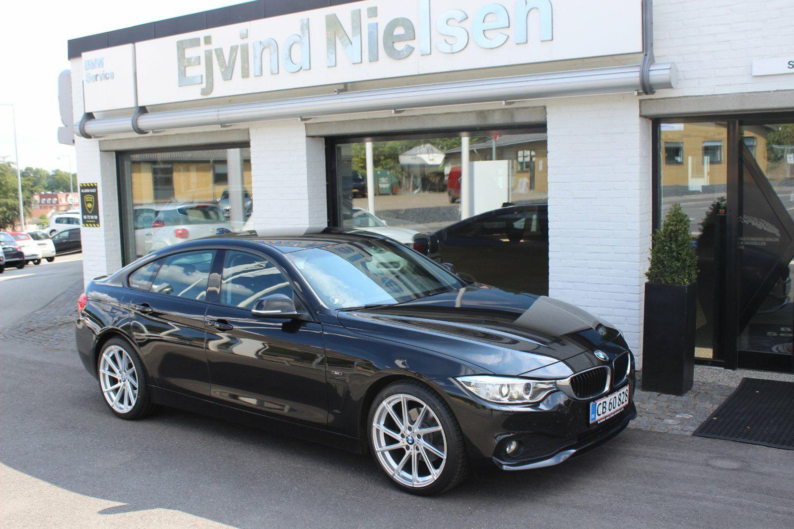 BMW 420d 2,0 Gran Coupé Sport Line aut. 5d - 359.900 kr.