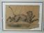 miniatuur 12 - Grand dessin E. Saulais Lionne courant fusain début XIXe suiveur Victor Adam