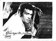 B55408 George Mistral Acteurs Actors 9x7cm