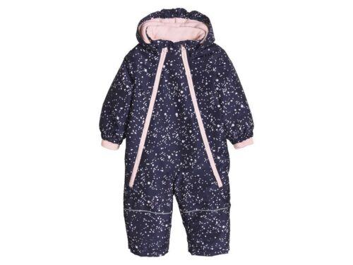 Baby Mädchen Schneeoverall Schneeanzug Overall Einteiler pink Winter