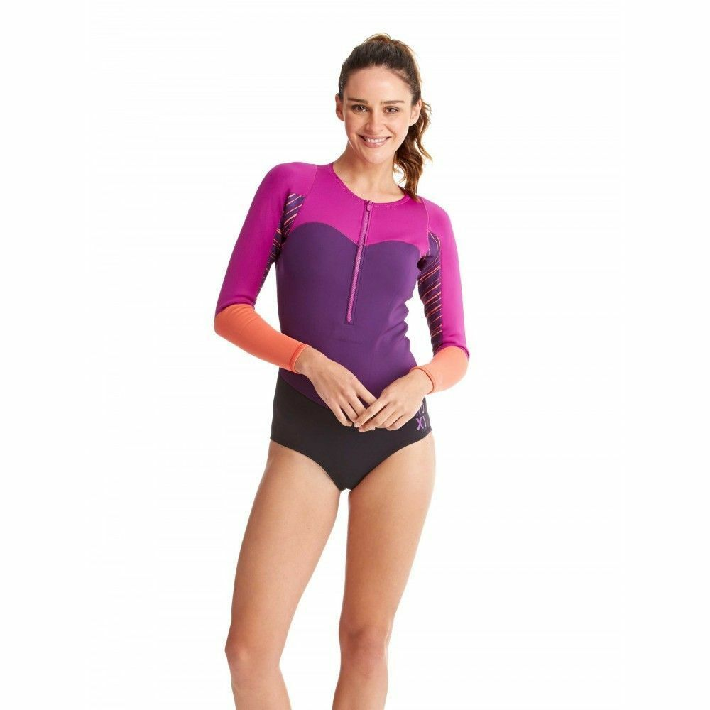 NEW Roxy Womens Spring Wetsuit Size 8,10,12,14 Long Sleeve XY Bikini - MSRP  150