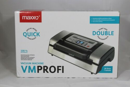 Profi Vakuumiergerät Vakuumierer Folienschweißgerät Maschine Maxxo inkl Rollen