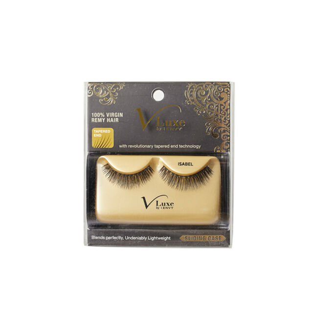 5a13c637c36 V Luxe by I-envy 'isis' Strip Eyelashes Black 100 Virgin Remy for ...