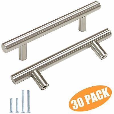 Manija de gabinete de acero inoxidable 304 Accesorio de puerta de muebles con manija de caj/ón de esquina cuadrada 128mm