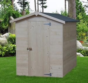 Casetta in di legno 175x184 15 mm casette box da giardino for Casette in legno usate ebay