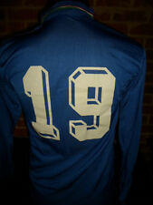 1986-1990 Schillaci #19 LS Italy Home Football Shirt medium mans adults (31462)