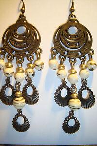 Large Long Indian~Asian Ethnic Boho Chandelier Earrings~ER37~uk ...