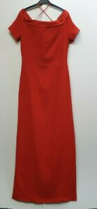 Z435-WOMENS-GRACE-RED-STYLE-CISSY-LONG-EVENING-FORMAL-TALL-DRESS-XL-14-EU-42-NWT