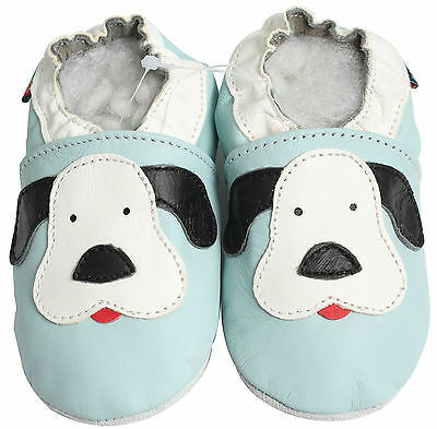 carozoo UK new leather soft sole baby shoes toddler slippers up to 4 YRS booties