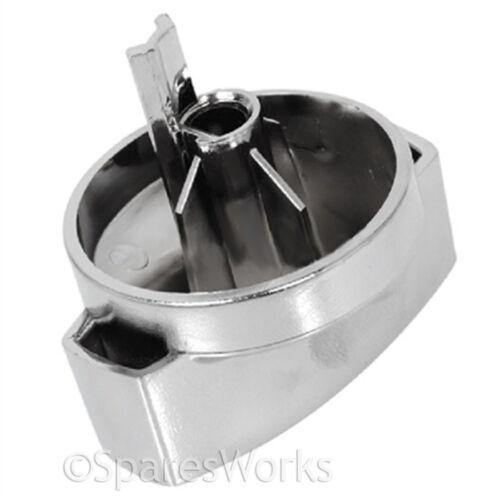 cuisinière BELLING 444445412 argent chromé contrôle pour four plaque de cuisson Bouton sélecteur