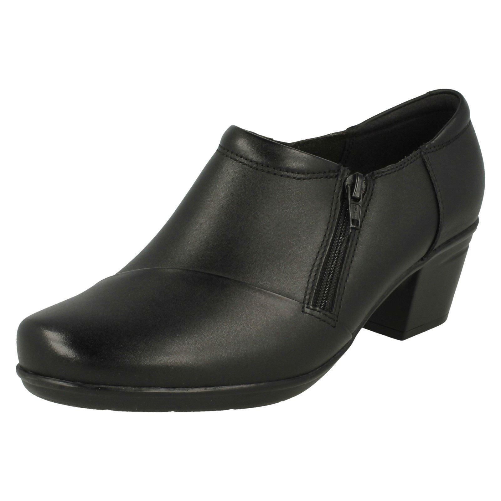 Femmes Clarks Smart Talon Et Pantalon chaussures 'em slie Claudia