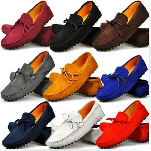 Fulinken-Size-5-12-New-Genuine-Suede-Leather-Casual-Driving-Loafers-Mens-Shoes