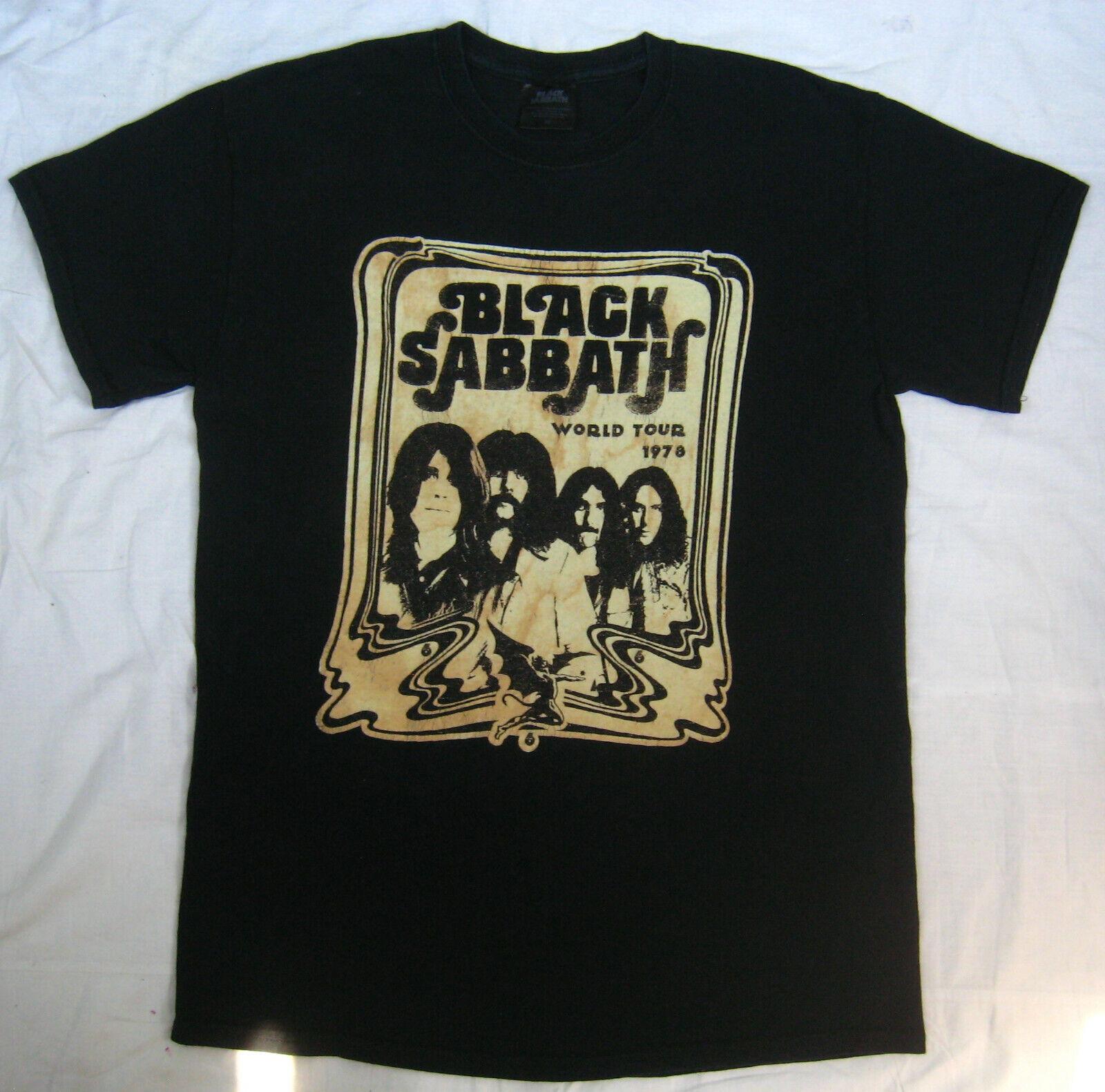 BLACK SABBATH US Tour 78 Mens T Shirt Unisex Tee Official Licensed Band Merch
