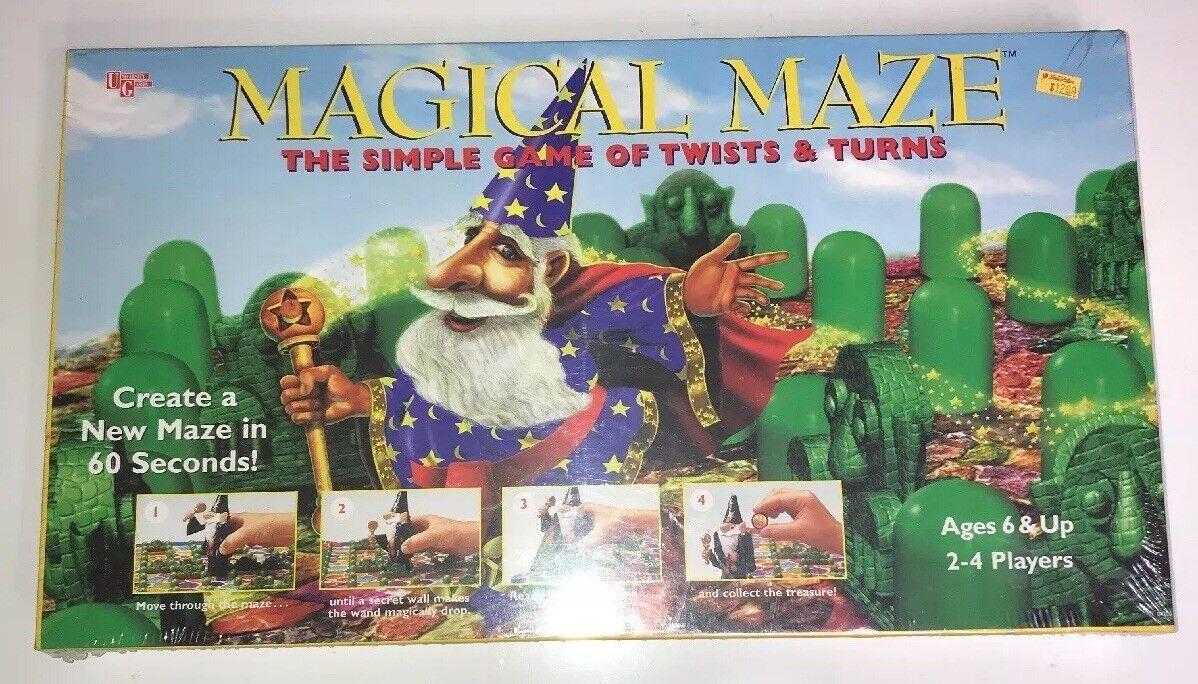 Laberinto mágico  la simple juego de giros & vueltas-asistente setos 1996 Raro Sellado