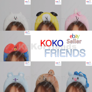 BTS-BT21-Official-Baby-Character-Plush-Hair-Band-HeadBand-2-Authentic-KPOP-Item