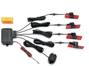 Glorieux Sensori Di Parcheggio 16mm Colore Nero Verniciabili