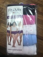 Fruit of The Loom Fit for Me 5 Cotton Briefs Underwear Panties Size 13