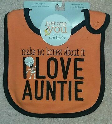 Cute Funny Auntie Baby Bib B011 Personalised I Love My Nanny Baby Bib