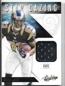 Details about Brian Quick 2012 Absolute Football Star Gazing Jersey #7
