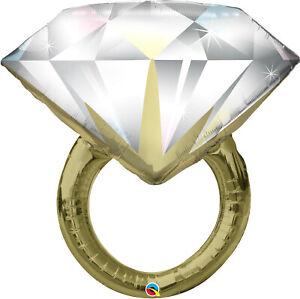 WEDDING-RING-BALLOON-37-034-DIAMOND-WEDDING-RING-QUALATEX-SUPERSHAPE-BALLOON