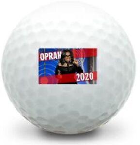 New Golf Equipment 2020 12 Brand New Oprah For President 2020 Logo) White Golf Balls in