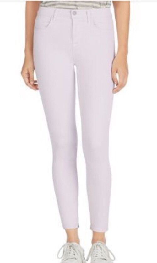 J Brand Women's Pale Pink Skinny's Jeans Size 25