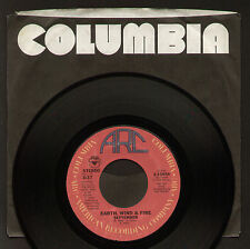 """7"""" EARTH WIND & FIRE SEPTEMBER / LOVE'S HOLIDAY USA 1977 ARC COLUMBIA POP FUNK"""
