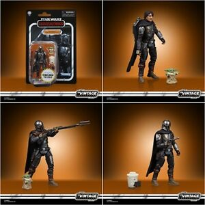 Din Djarin (The Mandalorian) With The Child Star Wars VC177 Walmart 3.75 In Hand