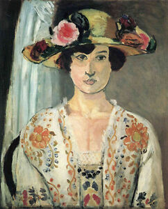 People Repro Made in U.S.A Giclee Prints Woman with a Hat by Henri Matisse