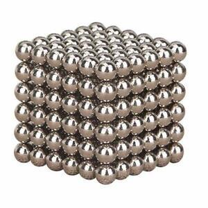 3mm-Silver-3D-Magic-Magnet-Magnetic-DIY-Balls-Sphere-Neodymium-Cube-Luxury-Beads