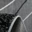 Kurzflor-Teppich-Wohnzimmer-Grau-Schwarz-Weiss-Gestreift-Wellen-Meliert-NEU Indexbild 3