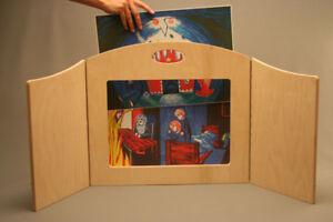 Kamishibai  KreaShibai Erzähl- und  Puppentheater DIN A 3