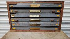 Vintage Letterpress Cabinet With Type 2