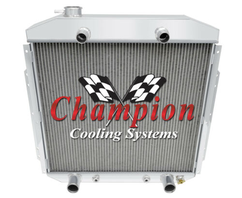 3 Row Best Cooling Champion Radiator for 1953 54 55 1956 Ford Truck Flathead V8