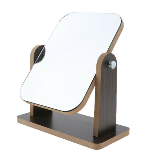 Bathroom Shaving Vanity Mirror Wood Folding Pro Makeup Mirrors for Daily Use
