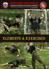 SYSTEMA SPETSNAZ DVD #3 - RUSSIAN MARTIAL ARTS VIDEO - Elements and Exercises