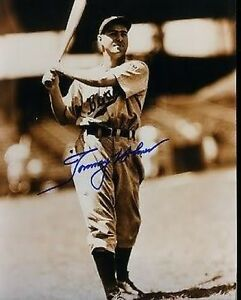 Tommy Holmes Braves Signed 8x10 Photo Jsa Autograph Authentic